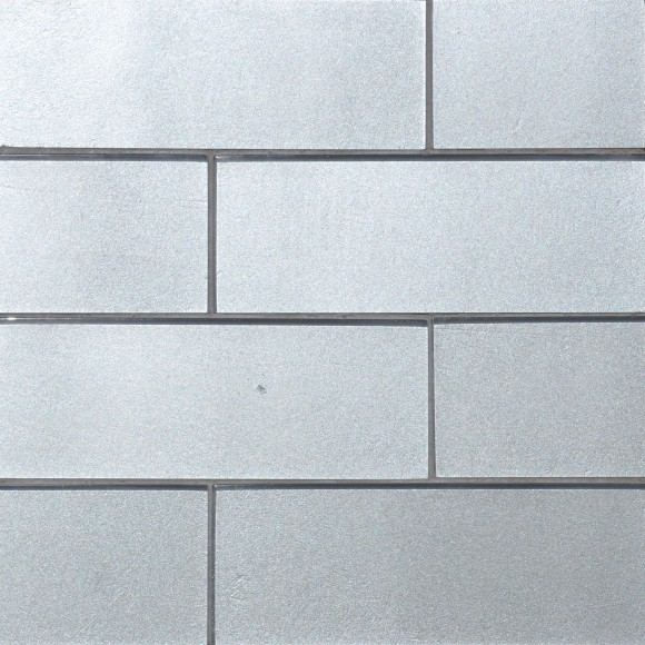 Glistening Gray Glass Tile