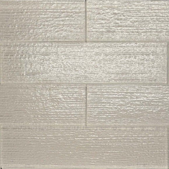 Linen Frost Glass Tile