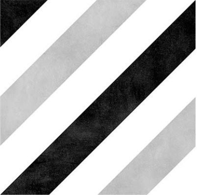 "6x6"" Porcelain Deco Tile - Stripes"
