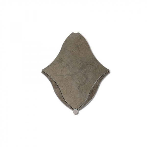 Diamond Dot Grey Stone Tile