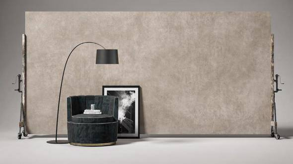 """Concrete Taupe 64""""x128"""" (12MM) 6.5 MM 7 week lead time"""