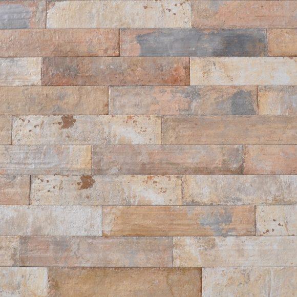 "3x16"" Natural Brick Porcelain Tile"