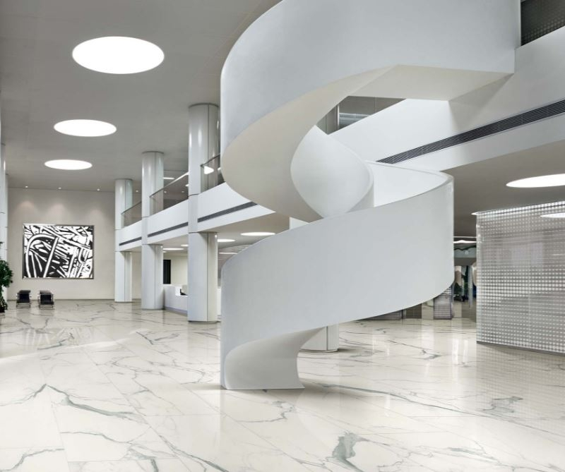 "24x48"" Albatros Statuary Porcelain Tile"