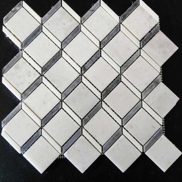 Dolomiti Ocean Grey Marble Cubicle, Polished Finish