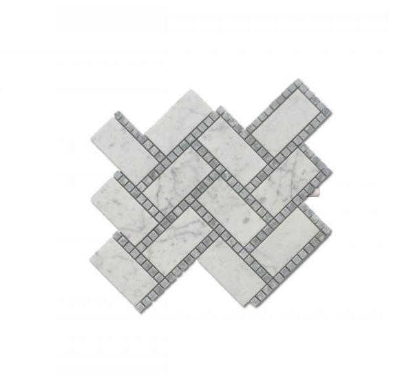 Carrara Manhattan Mosaic