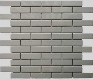 Buckhead Grey  Glossy Porcelain Brick