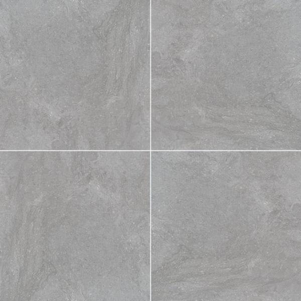 """24x24"""" Vulkon Grey Porcelain Tile Paver, 2 CM Thick"""