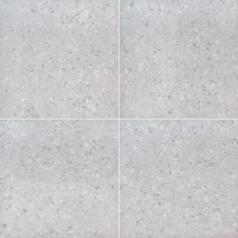 """24x24"""" Terrazo Glacier Porcelain Tile Pavers, 2 CM thick"""