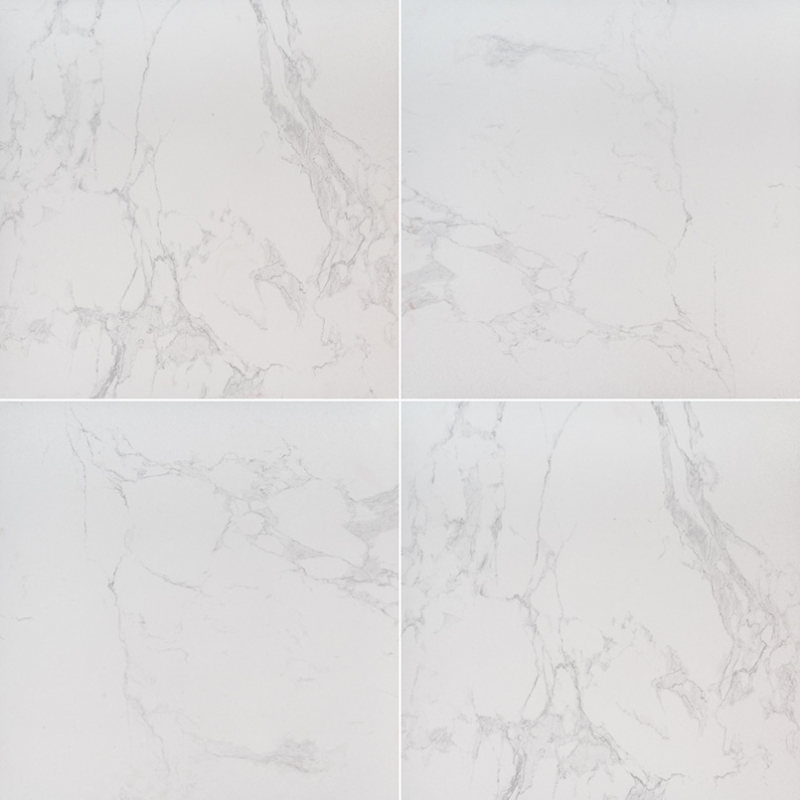 """24x24"""" Carrara Porcelain Tile Pavers, 2 CM thick"""