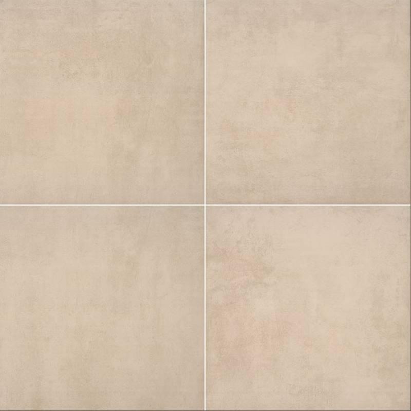 """24x24"""" Beton Sand Porcelain Tile Paver, 2 CM Thick"""