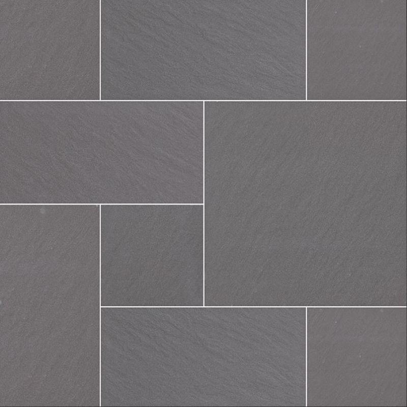 Pattern Bluestone Porcelain Tile Paver, 2 CM Thick