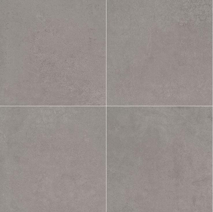 """24x24"""" and 18x36"""" Concreto Grigio Porcelain Tile Paver, 2 CM Thick"""