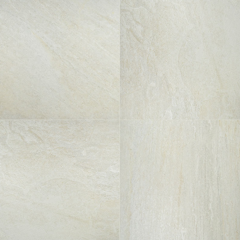 """24x24"""", 24x48"""" Legions Quartz White Porcelain Tile Paver, 2 CM thick"""
