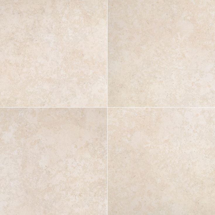 """12x24"""" and 24x24"""" Petra Beige Porcelain Tile Paver, 2 CM Thick"""