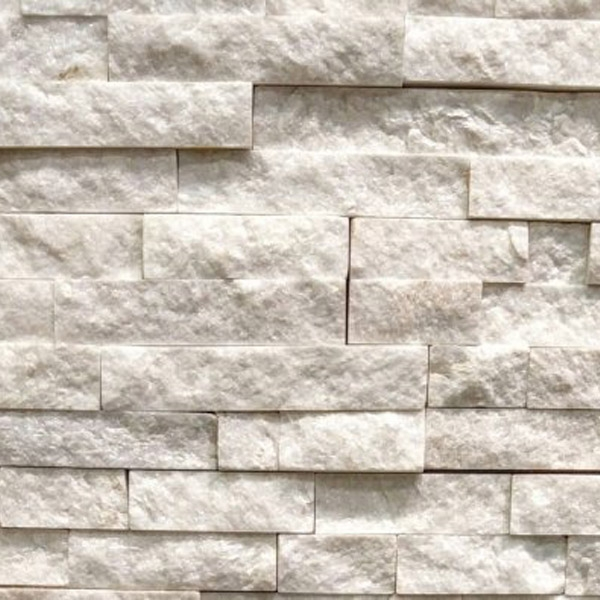 Crystal-White-Quartzite-Stacked-Stone-Splitface-Finish