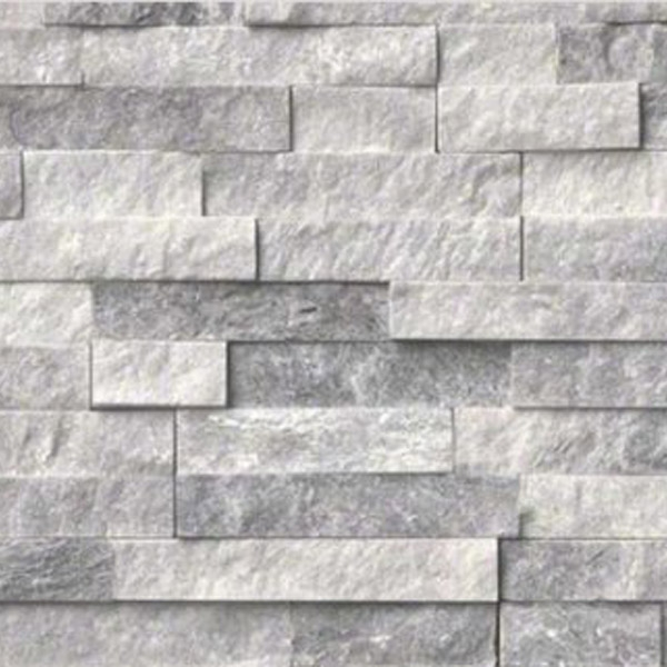 Gray-and-White-Quartzite-Stacked-Stone-Splitface-Finish