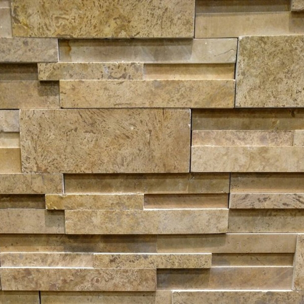 Beige-Travertine-Stacked-Stone-Honed-Finish