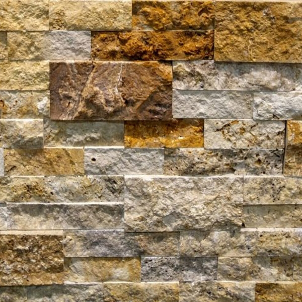 Scabos-Travertine-Stacked-Stone-Splitface-Finish