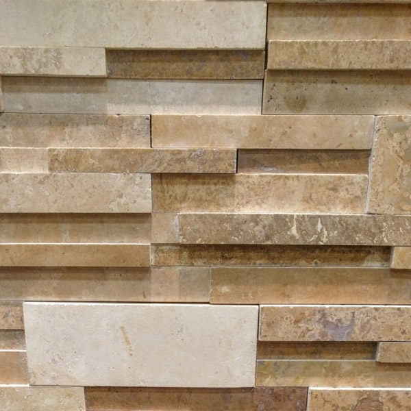 Mixed-Travertine-Stacked-Stone-Honed-Finish