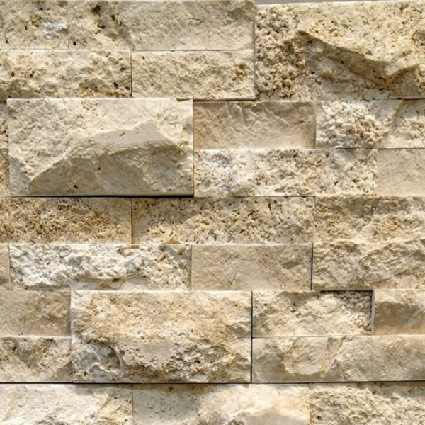 Ivory-Travertine-Stacked-Stone-Splitface-Finish