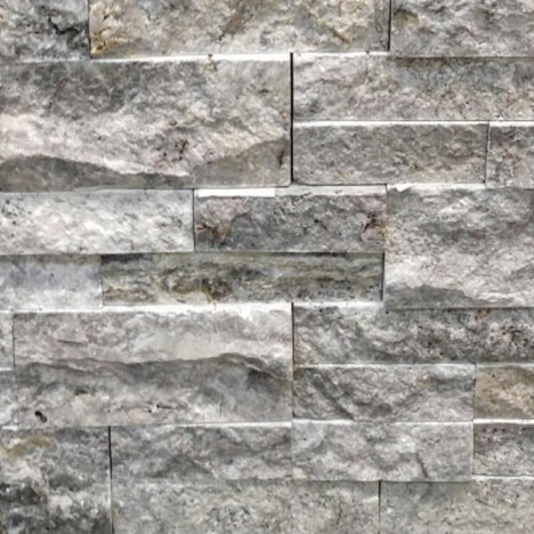 Silver-Travertine-Stacked-Stone-Splitface-Finish