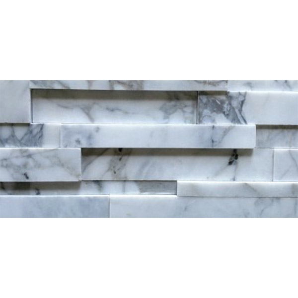 Statuary-Marble-Honed-Finish Stacked Stone