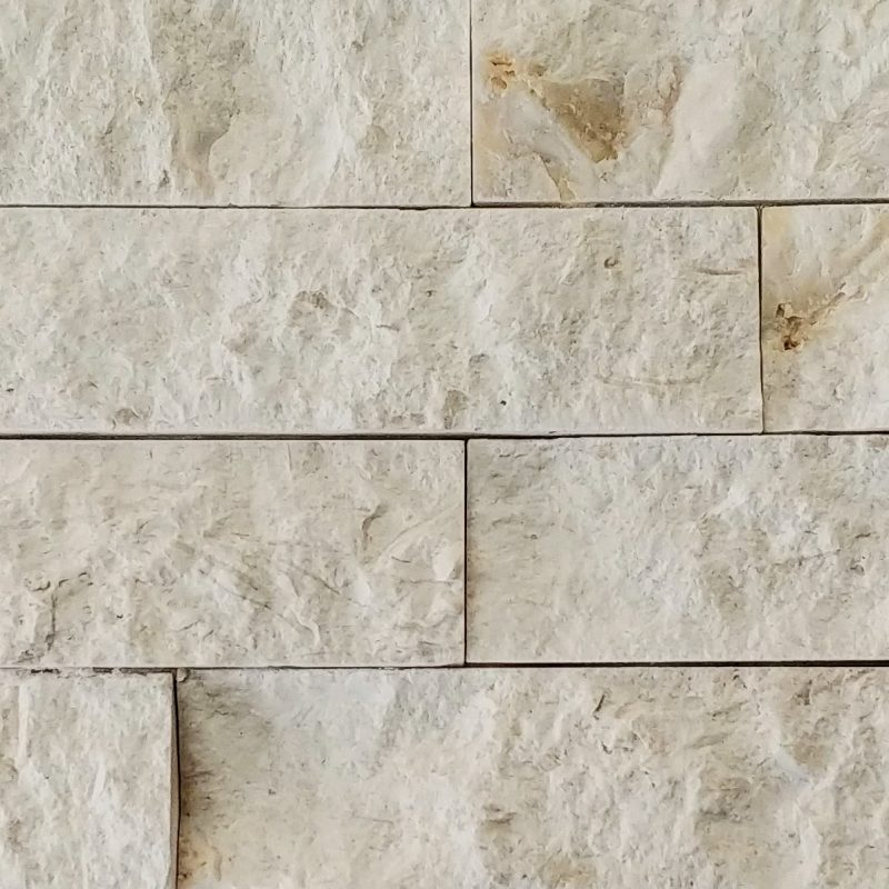 Turkish White Limestone Stacked Stone