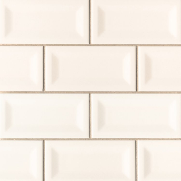 3x6 Inverted Off White Subway Tile