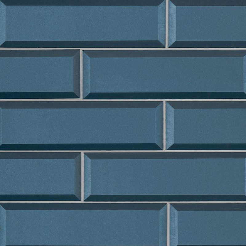 2.5x8 Blue Tohiti Beveled