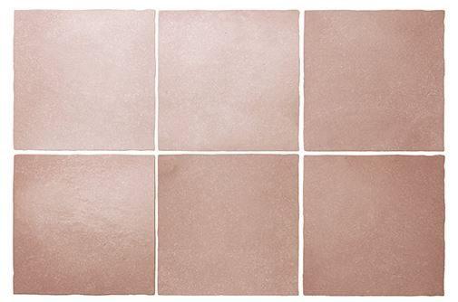 "5x5"" Subway Tile - Coral Pink"