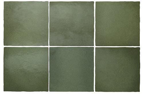 "5x5"" Subway Tile - Malachite"