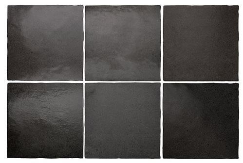 "5x5"" Subway Tile - Black Coal"
