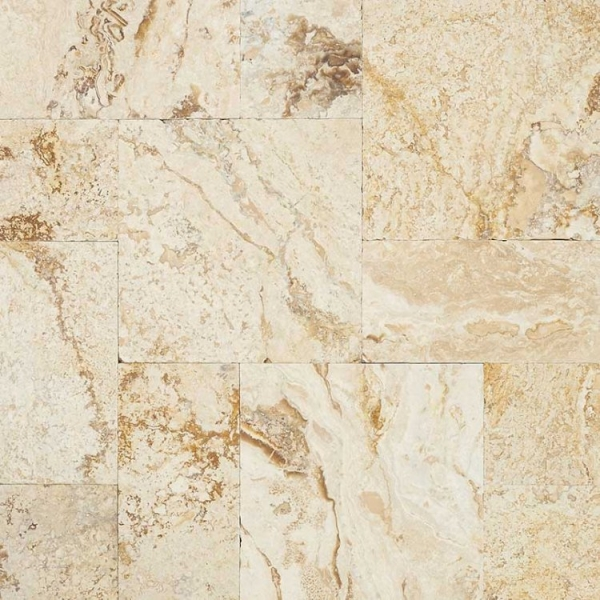Leonardo Travertine, French Pattern
