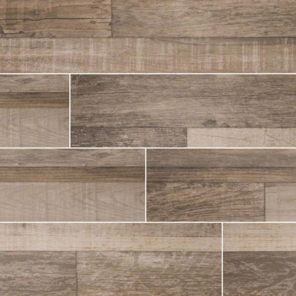Sage Sierra Wood Look Porcelain Tile