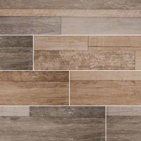 Beige Sierra Wood Look Porcelain Tile
