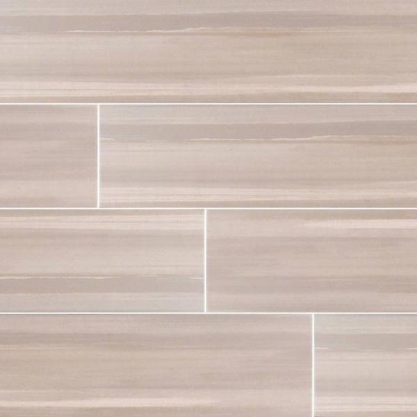 Grigio Watercolor Wood Look Porcelain Tile