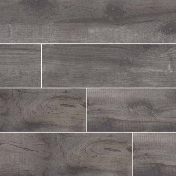 Mist Country River Wood Look Porcelain Tile