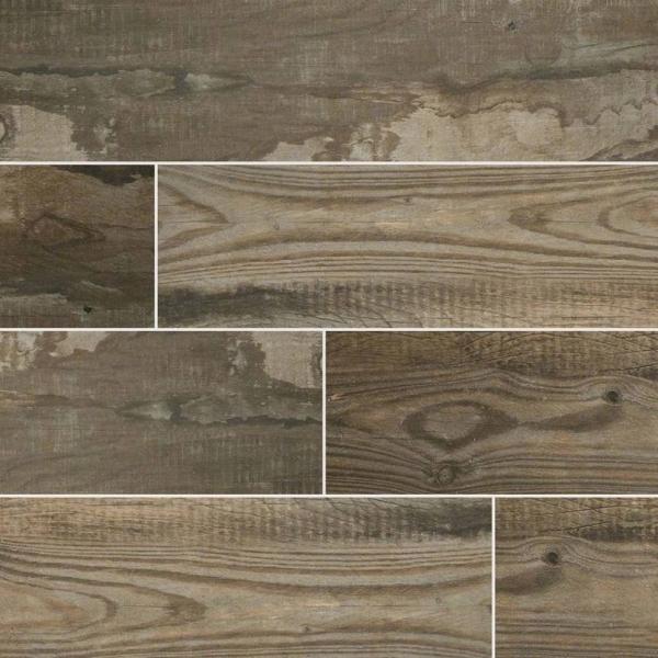 Musk-Salvage Wood Look Porcelain Tile