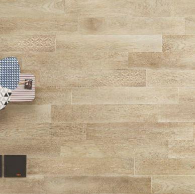 Nordek Natural Decor Wood Look Porcelain Tile