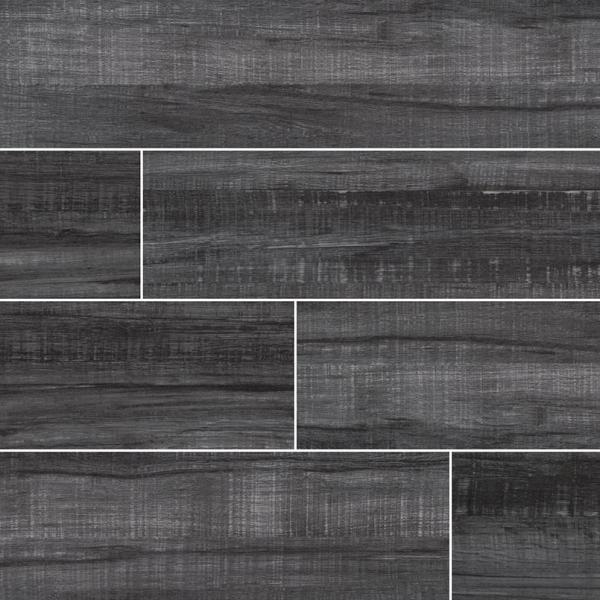 Obsidian-Belmond Wood Look Porcelain Tile