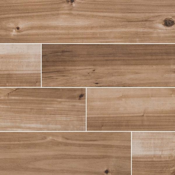 Saddle-Havenwood Wood Look Porcelain Tile